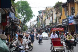 Hanoi is one of the most bustling and busy places you will ever experience.