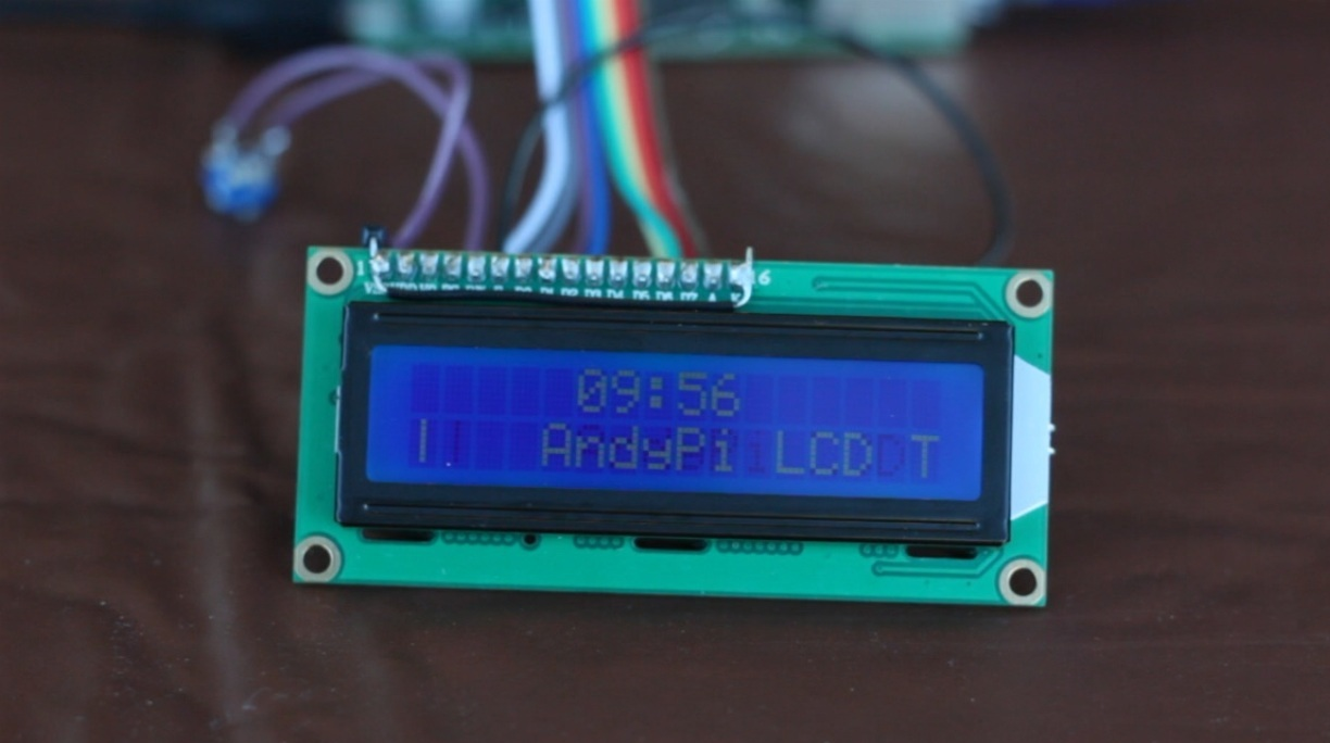 Python Controlled LCD