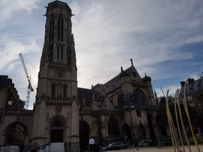 The church next to the Louvre, Salle paroissiale de Saint Germain l'Auxerrois.