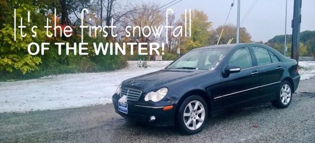 1ST SNOWFALL