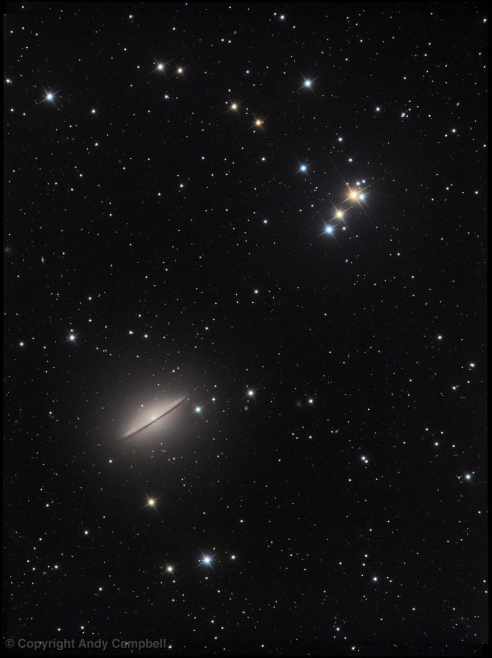 Galaxy m104 Sombrero LRGB