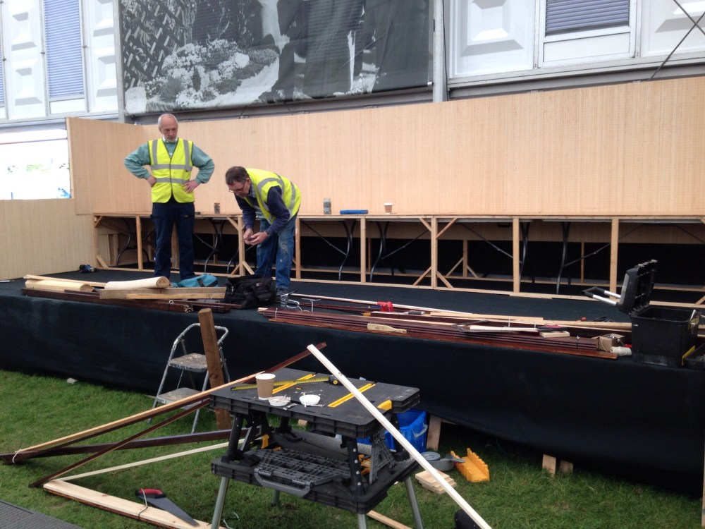 FOBBS Chelsea stand 2015 the big build. (5/6)