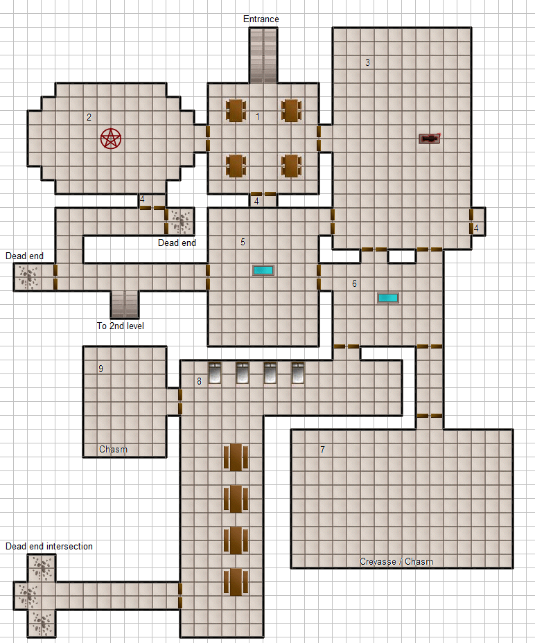 dungeon graph paper