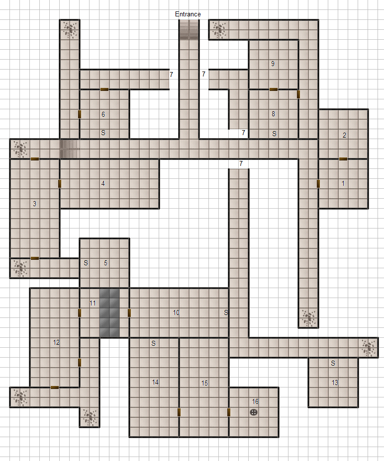 Dungeon Generator Comparison: Advanced Heroquest