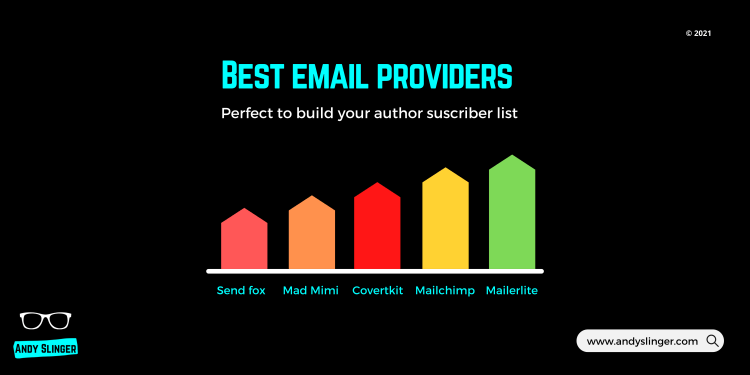 Author newsletter providers