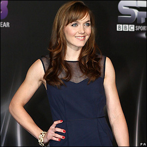 Victoria Pendleton who collected the Team Award
