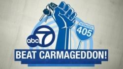 kabc and waze beat carmageddon