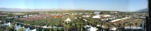 coachella 2013 panoramic from ferris wheel