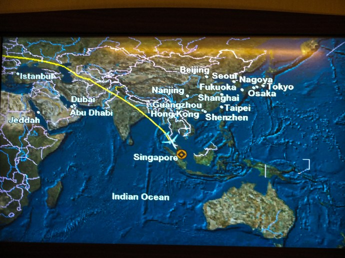 Singapore Airlines Suites Class Fra-sin 30th