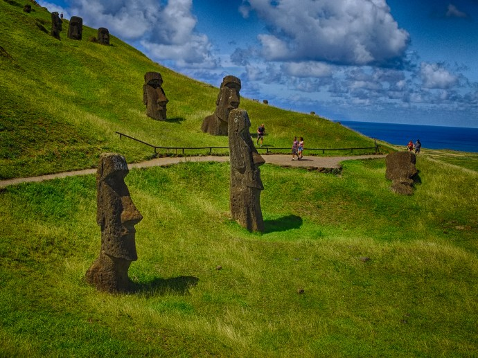Easter Island Part II The Statues The Moai  Andys