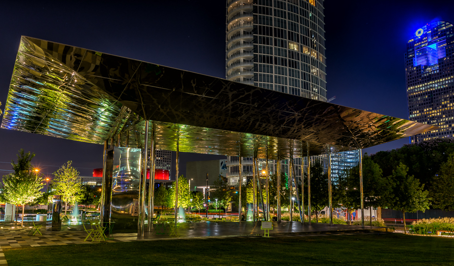 Sunday Picture Post  Dallass Klyde Warren Park  Andys