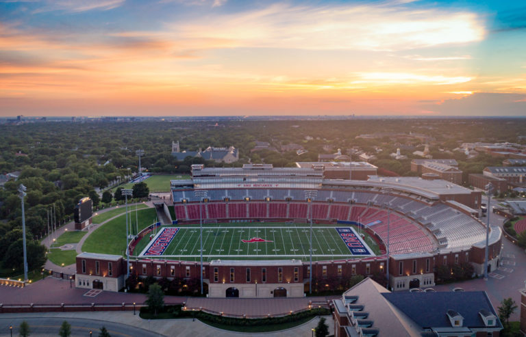 Picture of the Week SMUs Ford Stadium in Dallas  Andys