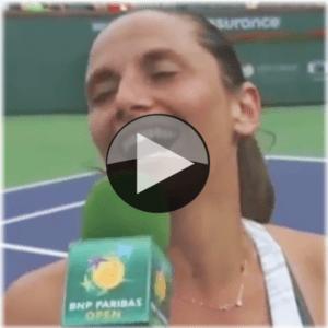FINALLY! Roberta Vinci's first win of 2014!