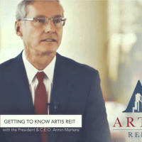 Voice Over Andy Taylor. Artis REIT 2016 Corporate Video