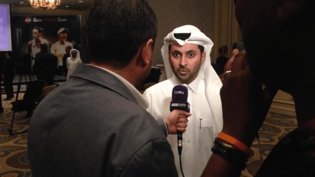 Saad Al Mohannadi. Qatar Total Open Tournament Director