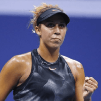 Andy Taylor. Emcee. 2017 US Open. Round-4. Day-8. Madison Keys defeats Elina Svitolina