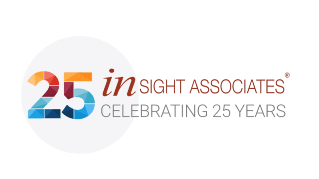 Image Description: Andy Taylor. Voice Over. Insight Associates 25th Anniversary