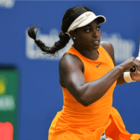 Andy Taylor Announcer. 2018 US Open Round-2 Sloane Stephens defeats Anhelina Kalinina