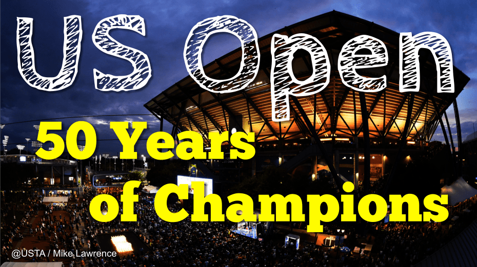 Andy Taylor Announcer 2018 US Open 50 Years of Champions