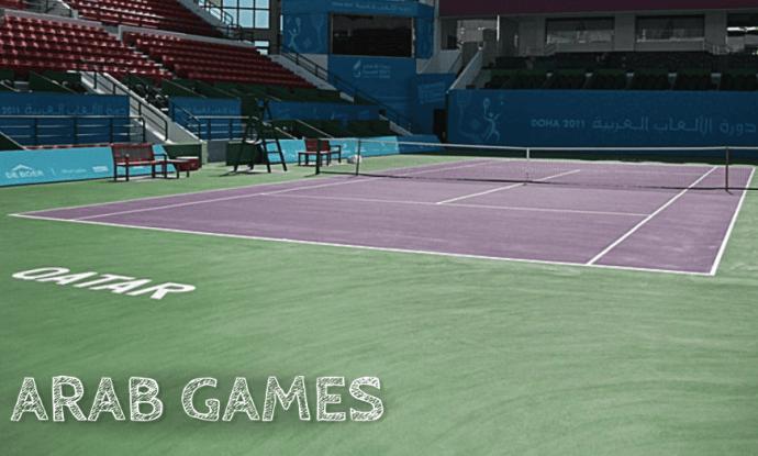 Announcer Andy Taylor Arab Games Doha