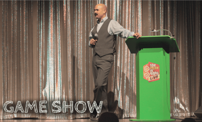 Announcer Andy Taylor Game Show