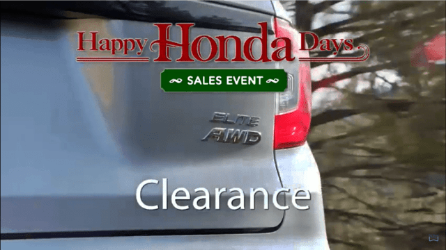 Andy Taylor Voice Over. Don Wessel Honda. 2019 Happy Honda Days Clearance