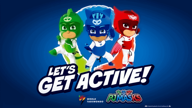 Voice Over Andy Taylor. PJ Masks 2020 Lets Get Active Promo