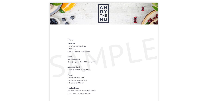 Andy De Santis RD MPH - Toronto Registered Dietitian & Weight Loss ...