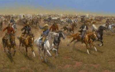 Andy Thomas Featured In The James Museum of Western and Wildlife Art!