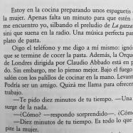 reading murakami en español