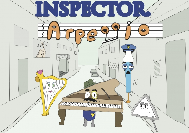 Inspector Arpeggio - Andy Wooding