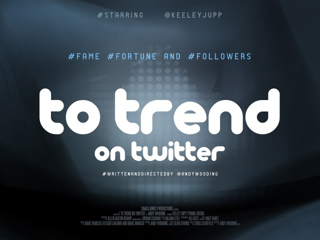 To Trend on Twitter poster