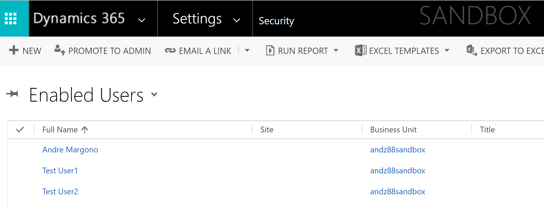 Dynamics 365 Online Deployment Tips: Set Your Security