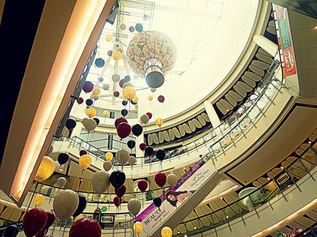 Bangkok Thailanda shopping