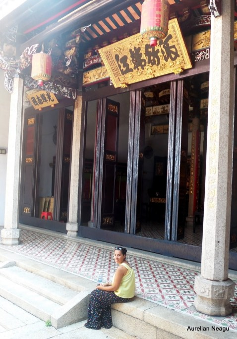 Chinese Temple, George Town, Penang, Malaezia 1