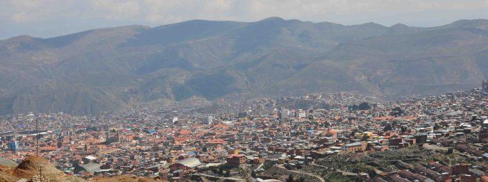 Potosí from Cerro Rico (Rich mountain)
