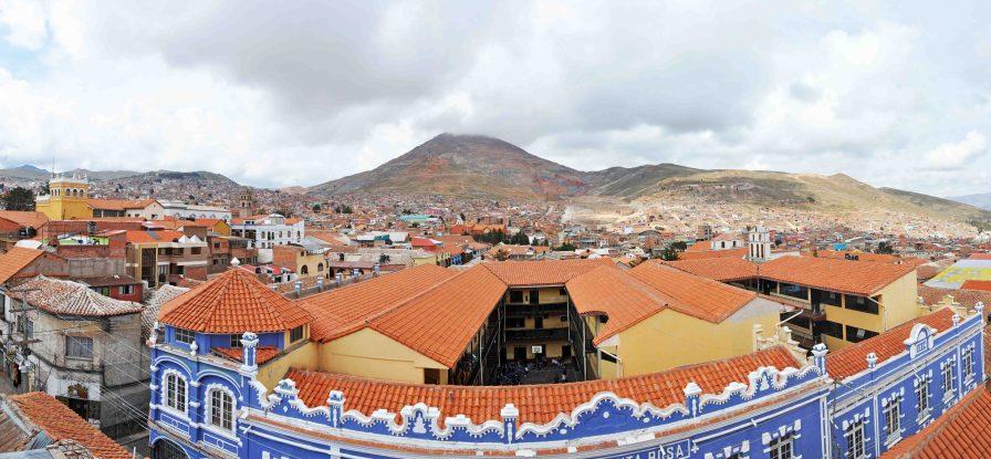 View from Iglesia de Compañia de Jesúsus