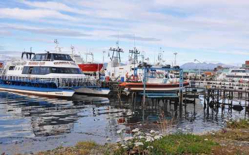 Ushuaia port - where people set out to Antarctica
