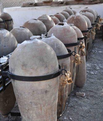 creepy urn shaped vessels