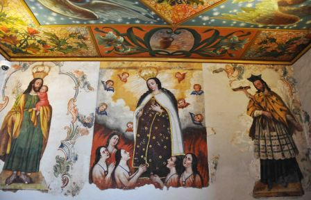 religious wall paintings
