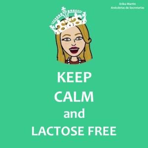 keep calm lactose