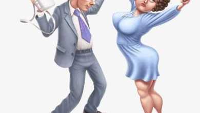 Женщина - это прекрасная смесь чистой нежности с нечистой силой... - Анекдоты