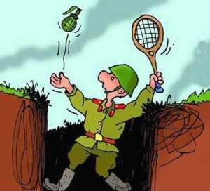 Плохо стреляете, товарищи солдаты - Анекдоты