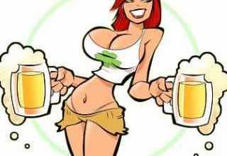 Анекдоты про пьяниц - Сидит мужик в баре, пьет-пьет