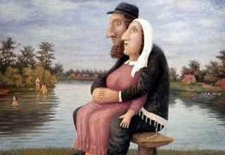 Еврейские анекдоты - Цилечка, я по тебе так соскучился!