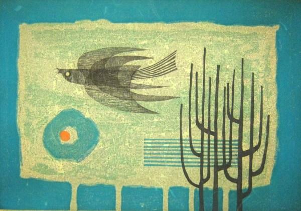 Modern Japanese Woodblock Print