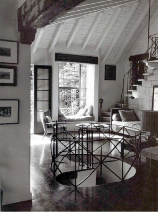 Paul Fortunes Laurel Canyon Home An Eclectic Eccentric