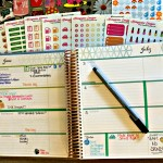 Playing with my Erin Condren Planner