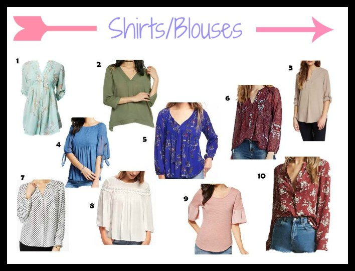 Blouse collage