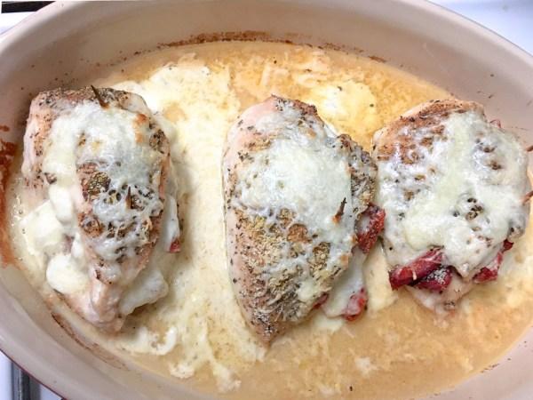 italian stuffed chicken